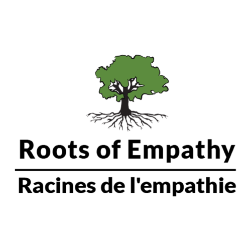 Roots of Empathy logo in English and French